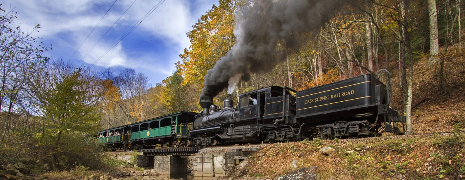 Cass Scenic Whittaker Trip | Mountain Rail WV
