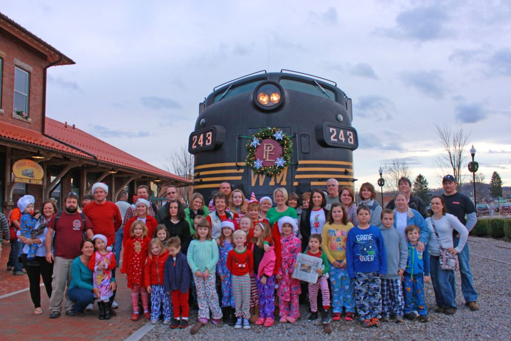 The Christmas Train Cast.Polar Express Mountain Rail Wv